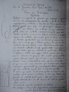 Augusto Montano - Vinícius de Moraes estudante - Provaredaçãovinícius1930