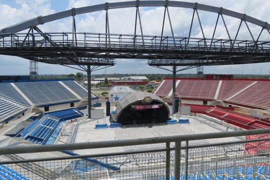 Arena do Bumbódromo em Parintins