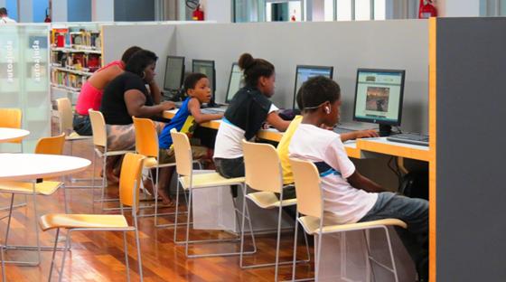 Soraria Magalhães - A Biblioteca Parque do Estado do Rio de Janeiro - imagem4