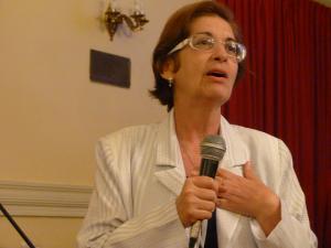 Célia Escobar, presidente do GIDJRJ / Foto: Revista Biblioo
