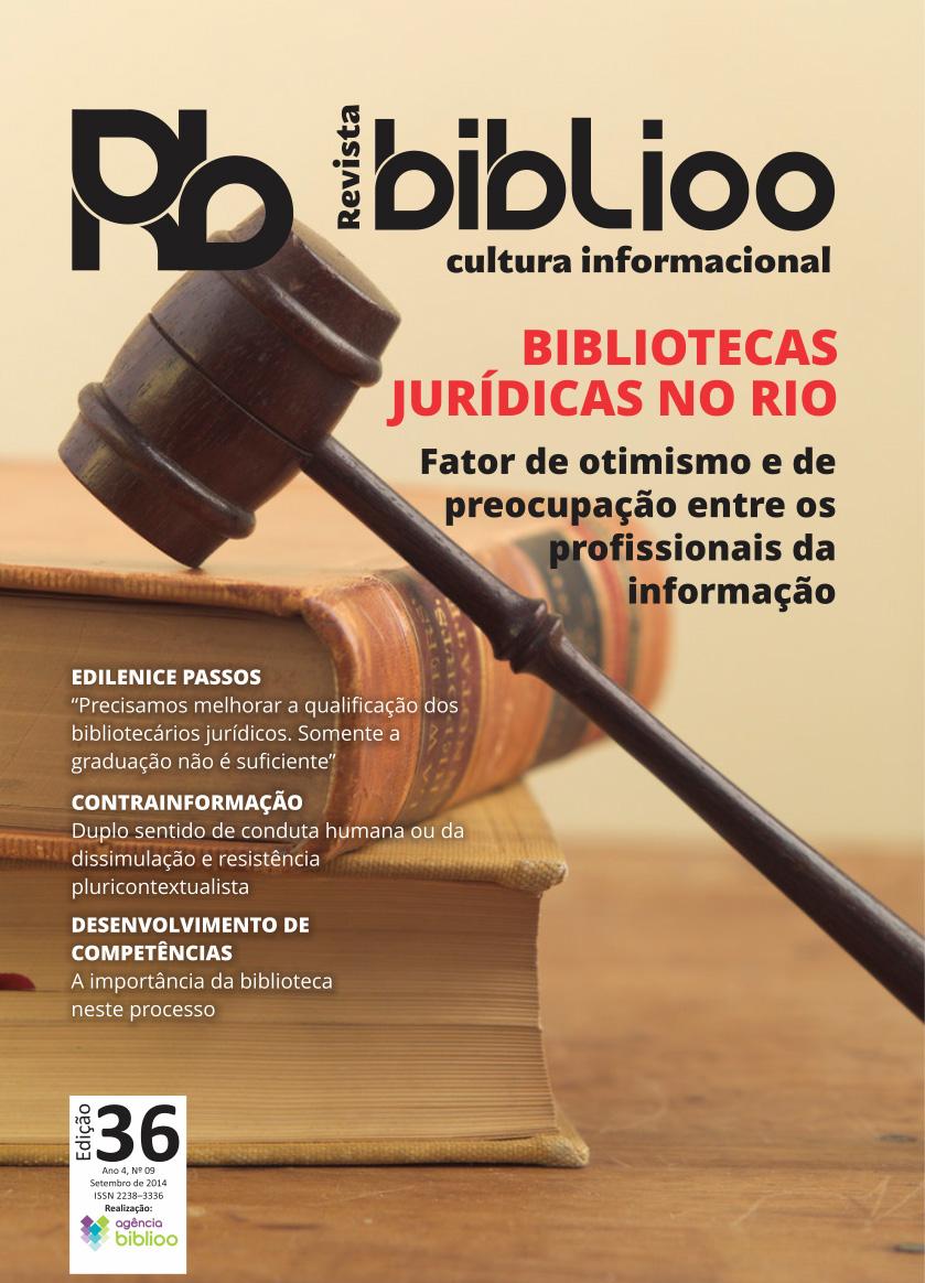 Revista Biblioo - Edição 36 - Capa