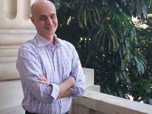 Diretor do Museu da Diversidade Sexual Franco Reinaudo (Foto: Tatiana Santiago/G1)