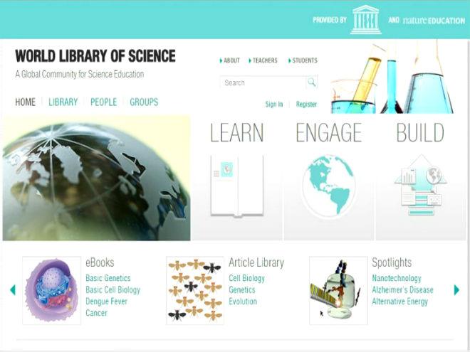 Biblioteca Mundial da Ciência