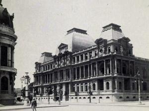 Vista antiga do Museu Nacional de Belas Artes - Foto de Marc Ferrez.