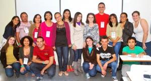 Com participantes do ENEBD Belo Horizonte 2012