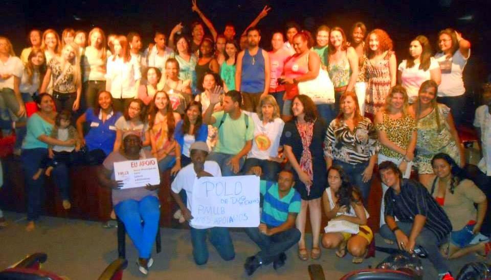 Participação recorde: 60 pessoas de várias cidades da Baixada Fluminense