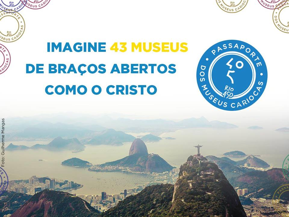 Passaporte dos Museus Cariocas. Imagem: divulgação.