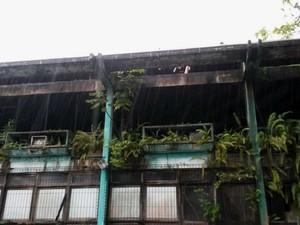 Incêndio atingiu o prédio do Rurap em 2010 (Foto: Wellinson Maximin/Arquivo Pessoal)