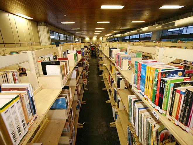 Acervo da Biblioteca Pública do Estado da Bahia. Foto: Mateus Pereira/Secom