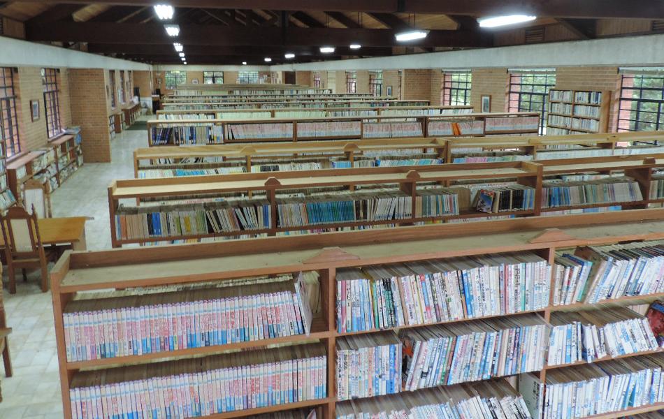 Biblioteca é aberta ao público e funciona apenas aos sábados. Foto: Caio Gomes Silveira / G1