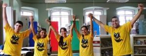 Integrantes do Movimento Abre Biblioteca. Foto: Blog Caçadores de Bibliotecas