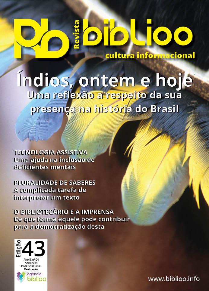 Revista Biblioo, edição 43 - Capa