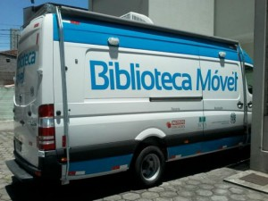 Proxima parada da biblioteca móvel será em Cariacica, nesta terça-feira (12) (Foto: Assessoria/Secult)