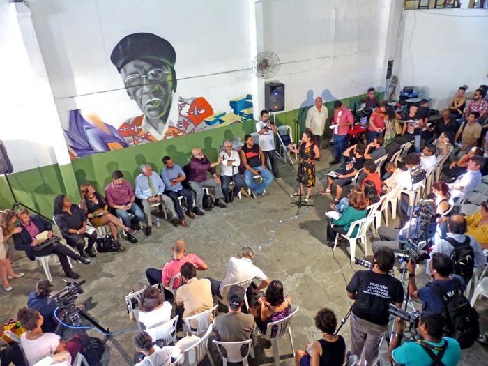 Bate papo com Juca Ferreira e agentes culturais na Baixada Fluminense