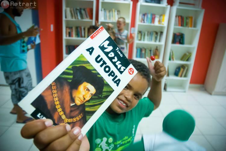 Crédito: Projeto Redes de Leitura de Bibliotecas Comunitárias/ ONG Cirandar. Foto: cirandar.org.br.