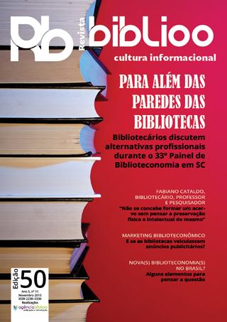 Edição 50 da Revista Biblioo