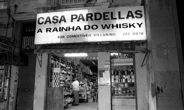 A Casa Pardellas, que ficava no Centro do Rio - Arquivo O Globo