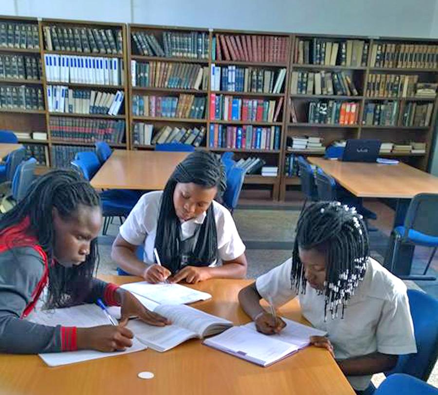 Biblioteca Nacional de Moçambique. Foto: Facebook da Instituição.