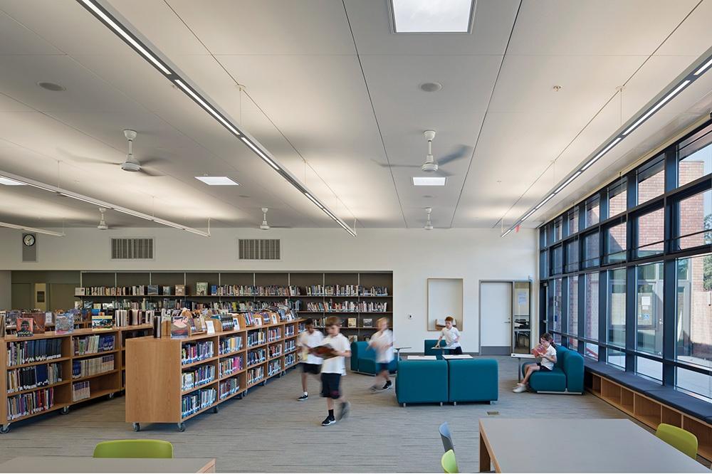 Stevens Library. Foto: Bruce Damonte / aiasf.org