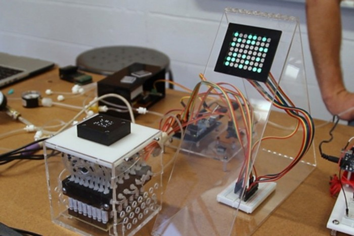 Um dos protótipos usados na pesquisa