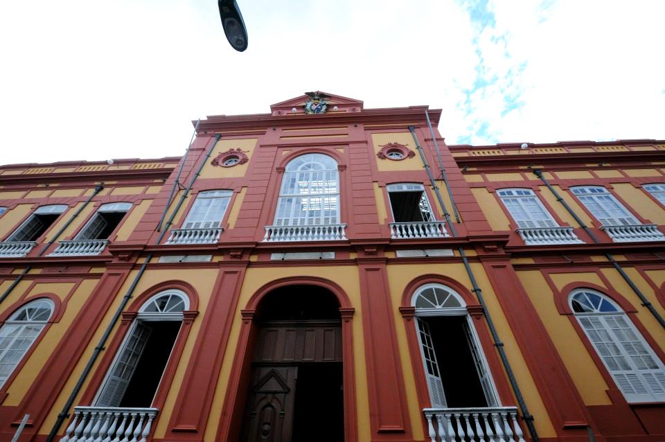 Biblioteca Pública Estadual do Amazonas. Foto: cultura.am.gov.br.