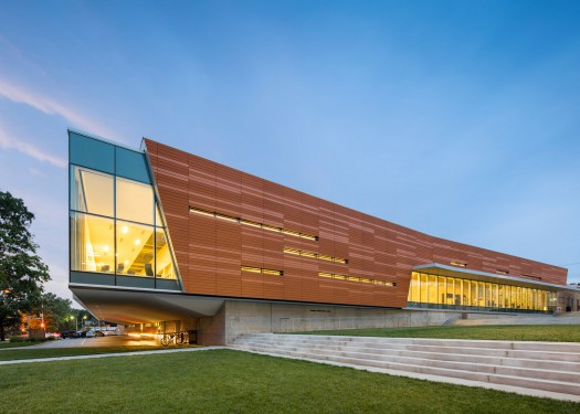 Lawrence Public Library Renovation and Expansion (Kansas). Fonte: IdealistaNews