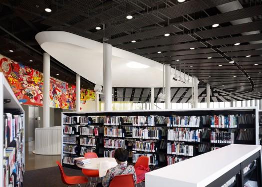 Public Library en Chinatown Branch (Chicago). Fonte: IdealistaNews