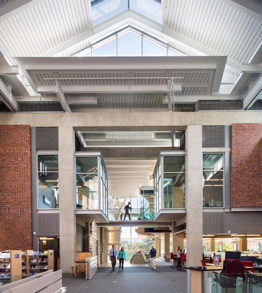 Sawyer Library en Williamstown (Massachusetts). Fonte: IdealistaNews
