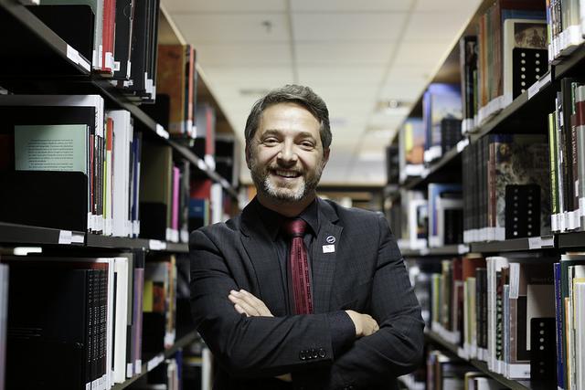 Volnei Canônica, Diretor da DLLLB. Foto: Janine Moraes / MinC.