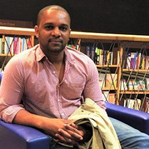 Vagner Amaro: bibliotecário, jornalista e gestor cultural. Foto: arquivo pessoal.