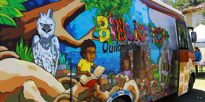 Biblioteca Quilombola. Foto: divulgação