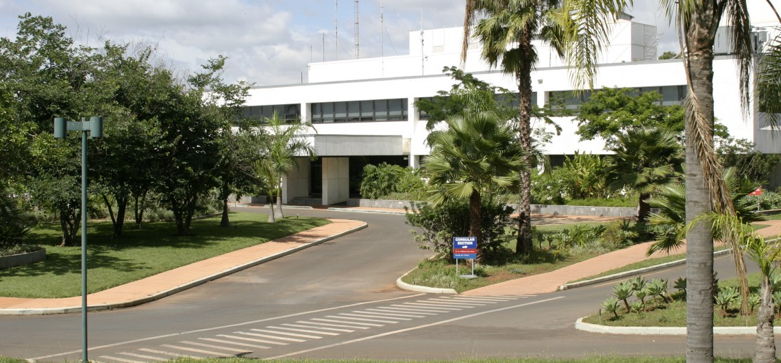 Embaixada dos EUA em Brasília. Foto: br.usembassy.gov/pt.